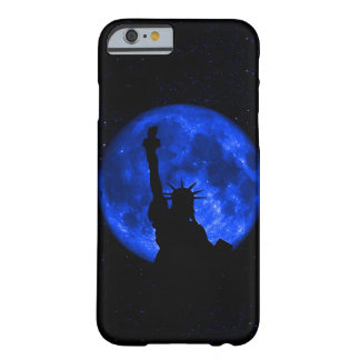 Lady Liberty Under the Blue Moon Barely There iPhone 6 Case