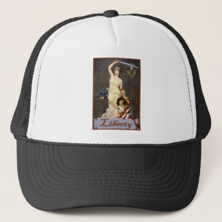 Lady Liberty with Sword Trucker Hat