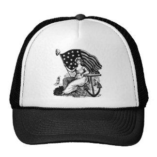 LADY LIBERY CAP TRUCKER HAT