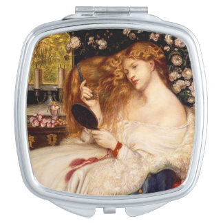 Lady Lilith by Rossetti - Compact 1 Mirror For Makeup