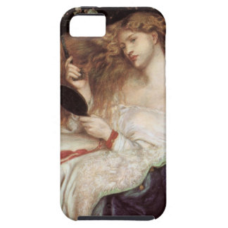 Lady Lilith by Rossetti, Vintage Victorian Portait iPhone 5 Covers