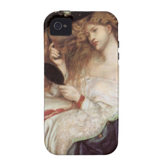 Lady Lilith by Rossetti, Vintage Victorian Portait iPhone 4/4S Covers