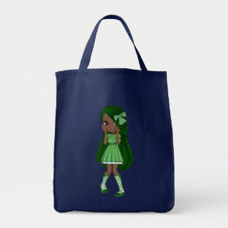 Lady Lime (African American Version) Tote Bag