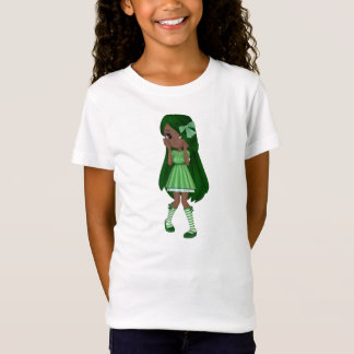 Lady Lime Baby Doll (African American Version) T-Shirt
