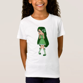 Lady Lime Baby Doll T-Shirt