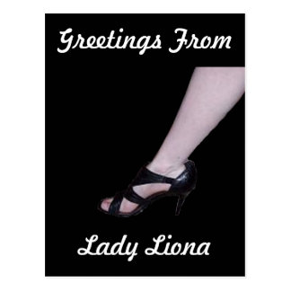Lady Liona Postcard