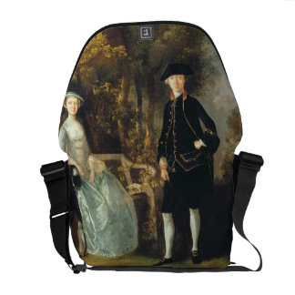 Lady Lloyd and her son, Richard Savage Lloyd, of H Courier Bag