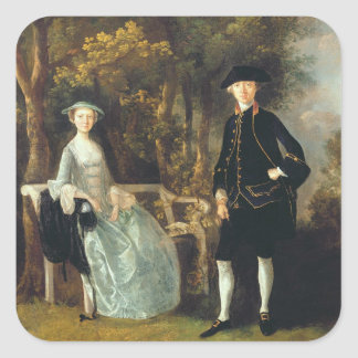 Lady Lloyd and her son, Richard Savage Lloyd, of H Square Sticker