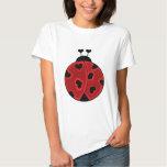 Lady Love Bug T Shirts