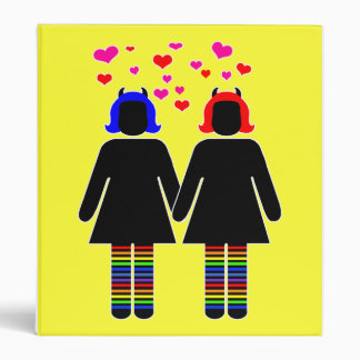 Lady Love Pride Binder