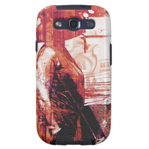 Lady Loves Paint Galaxy S3 Cases