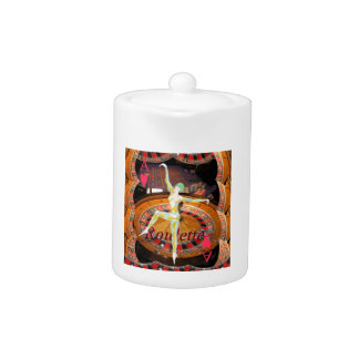 Lady Luck , casino roulette cards gaming montage Teapot