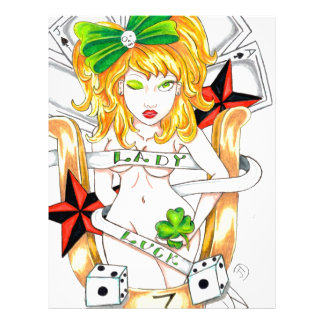 lady luck letterhead