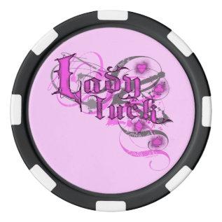 Lady Luck Pokerchips Poker Chips at Zazzle