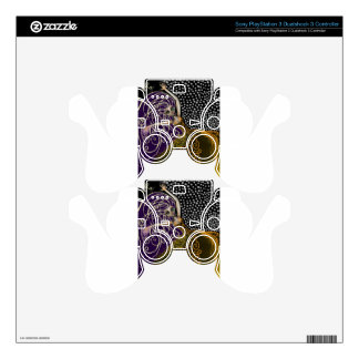 Lady Luck PS3 Controller Decal