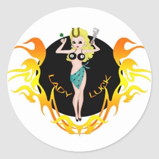 Lady Luck Stickers