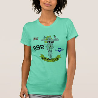 Lady Luck WWII Nose Art T-Shirt