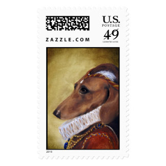 Lady Lucy Postage Stamps