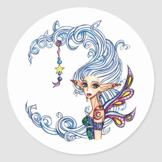 Lady Luna Fairy Stickers