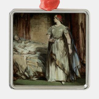 Lady Macbeth, 1850 Metal Ornament