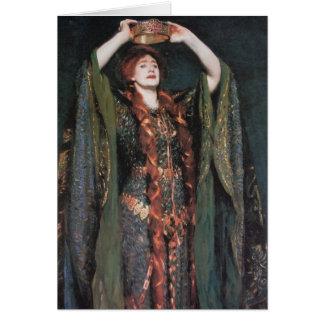Lady Macbeth Greeting Card