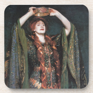 Lady Macbeth Beverage Coaster