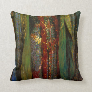 Lady Macbeth Dress Throw Pillow