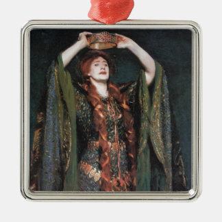 Lady Macbeth Metal Ornament