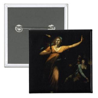 Lady Macbeth Sleepwalking, 1783 (oil on canvas) Button