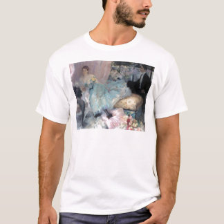 Lady Man Courtship painting T-Shirt