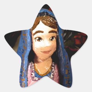 Lady Mary I Star Sticker
