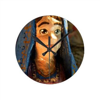 Lady Mary IV Round Clock
