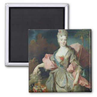 Lady Mary Josephine Drummond, Countess of Castelbl 2 Inch Square Magnet