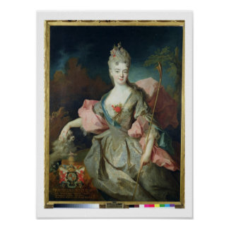 Lady Mary Josephine Drummond, Countess of Castelbl Poster