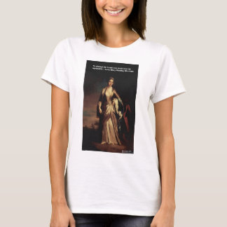 Lady Mary Montagu Quote Love Is Agreeable Gifts T-Shirt