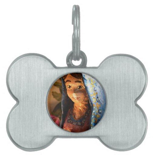 Lady Mary V Pet ID Tag