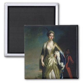 Lady Mary Wortley Montagu, c.1725 Magnet