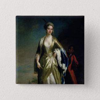 Lady Mary Wortley Montagu, c.1725 Pinback Button