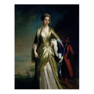Lady Mary Wortley Montagu, c.1725 Postcard
