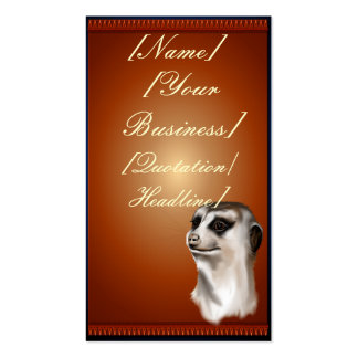 Lady Meerka profilecard_business_vertical., [Na... Double-Sided Standard Business Cards (Pack Of 100)