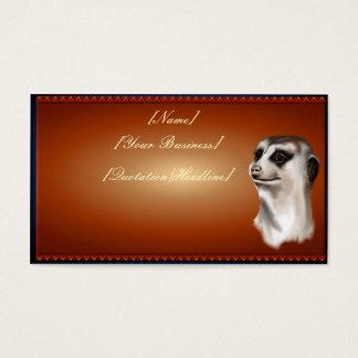 Lady Meerkat profilecard_business_horizontal, [... Business Card