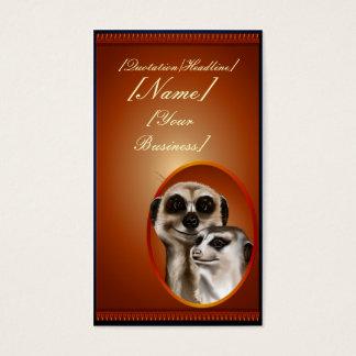 Lady Meerkat  profilecard_business_vertical., [... Business Card