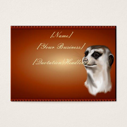 Lady Meerkat profilecard_chubby_horizontal., [N... Business Card
