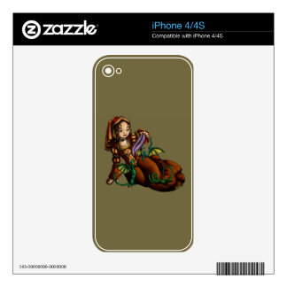 Lady Merewalds Pets Decals For iPhone 4S