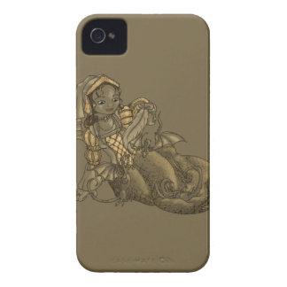 Lady Merewalds Pets iPhone 4 Case-Mate Case