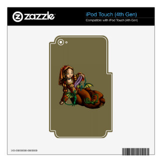 Lady Merewalds Pets iPod Touch 4G Skin