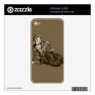 Lady Merewalds Pets Skin For iPhone 4
