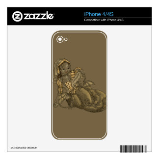 Lady Merewalds Pets Skins For iPhone 4S