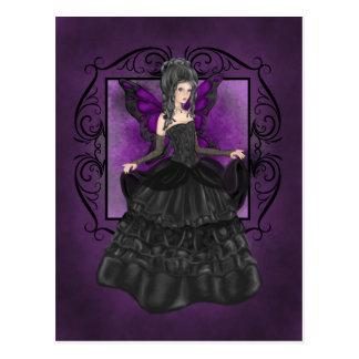 Lady Midnight Postcard