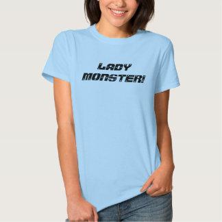 LADY MONSTER! T-SHIRT